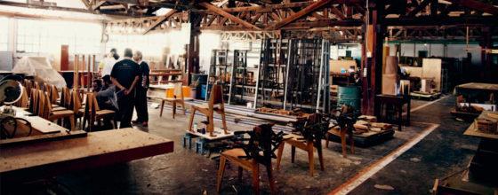 Einblick in den Produktionsbetrieb der Holzfachschule Pika im indonesischen Solo.