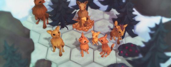 «Niche – a genetics survival game»  (screenshot)