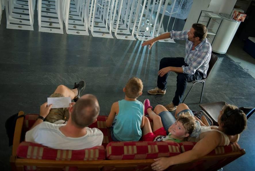 Ralley mit Creative Villages und der Volkshochschule Leytron