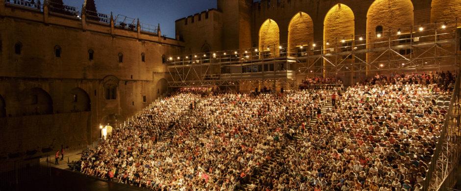 Cour d'Honneur du Palais des Papes, Festival d'Avignon