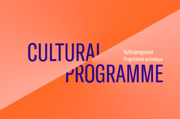 Kulturprogramm / Programme artistique / Cultural Programme crossroads