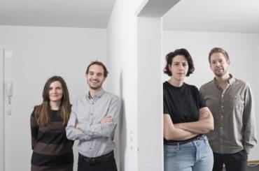Ani Vihervaara, Alessandro Bosshard, Li Tavor & Matthew van der Ploeg. © KEYSTONE/Christian Beutler