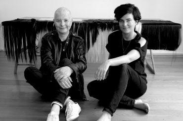 Pauline Boudry et Renate Lorenz. Photo: Bernadette Paassen
