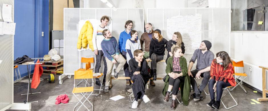 """Swiss Participation """"Body of us"""" @ London Design Biennale 2018 © Stefan Schmidlin"""