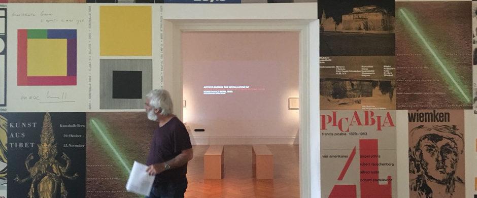At the Bern Kunsthalle – exhibition «Harald Szeemann: Museum der Obsessionen» © Pro Helvetia