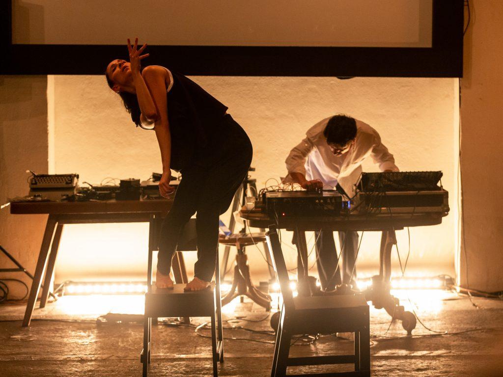 Performance «No title» mit Nicole Morel und Laura Garcia Aguilera, Musik: Stand Iordanov