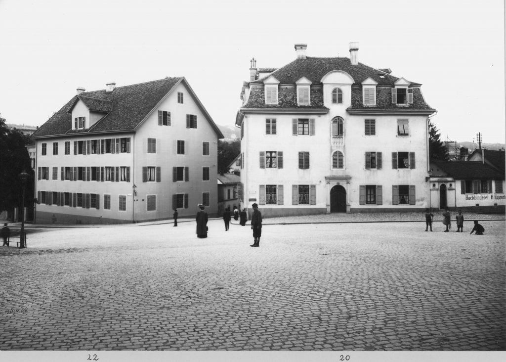 Hirschengraben 22, Zürich, 1908