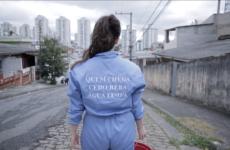 Urban intervention by Lea Meier in São Paulo ©Lúcio Braga