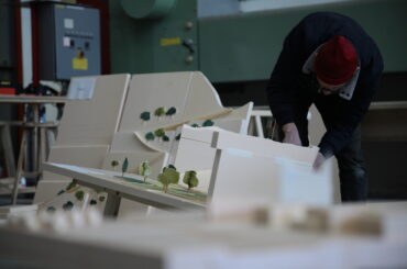 Models — Models in the Geneva's studio © Swiss Pavilion's team of the Venice Architecture Biennale