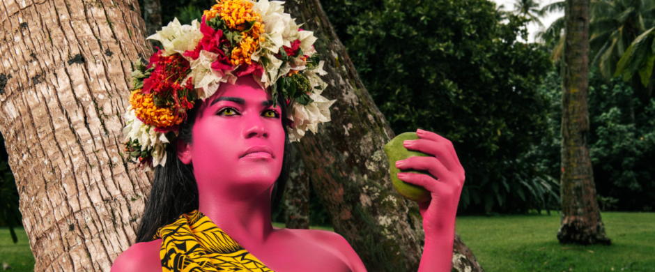 La femme à la mangue II, 2019 Tahiti © Namsa Leuba