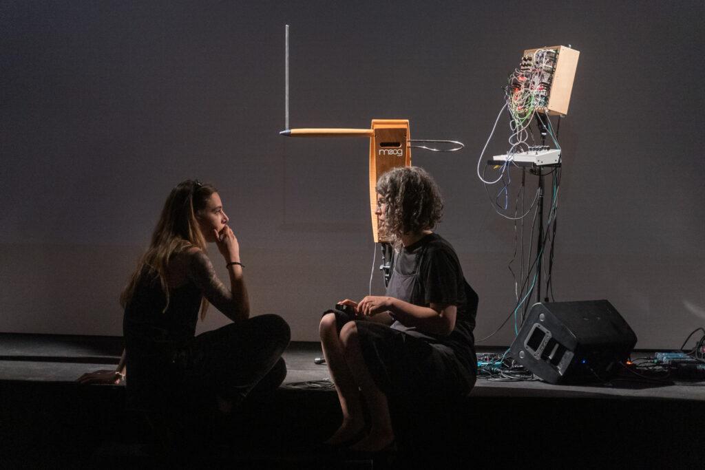 Backstage, Therminal C + Matilde Sambo © Samuele Cherubini