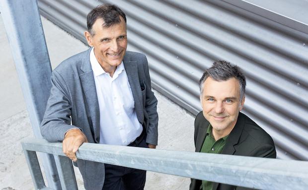 Charles Beer, Präsident Stiftungsrat (links) und Philippe Bischof, Direktor (rechts)
